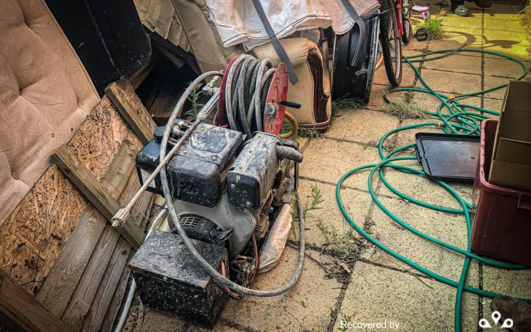 Pressure washer stolen and recovered from Essex