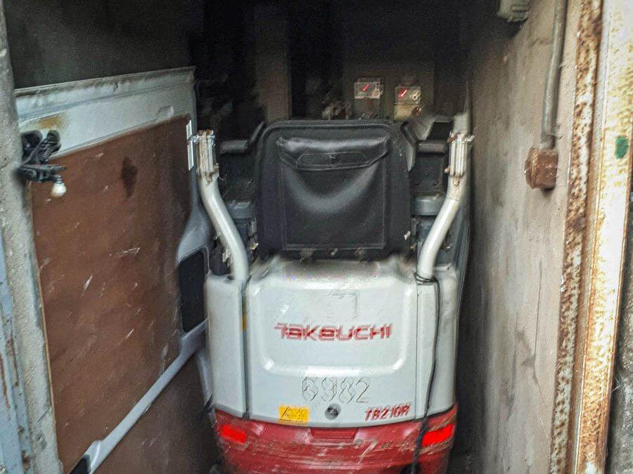 Takeuchi Excavator stolen from South Wales