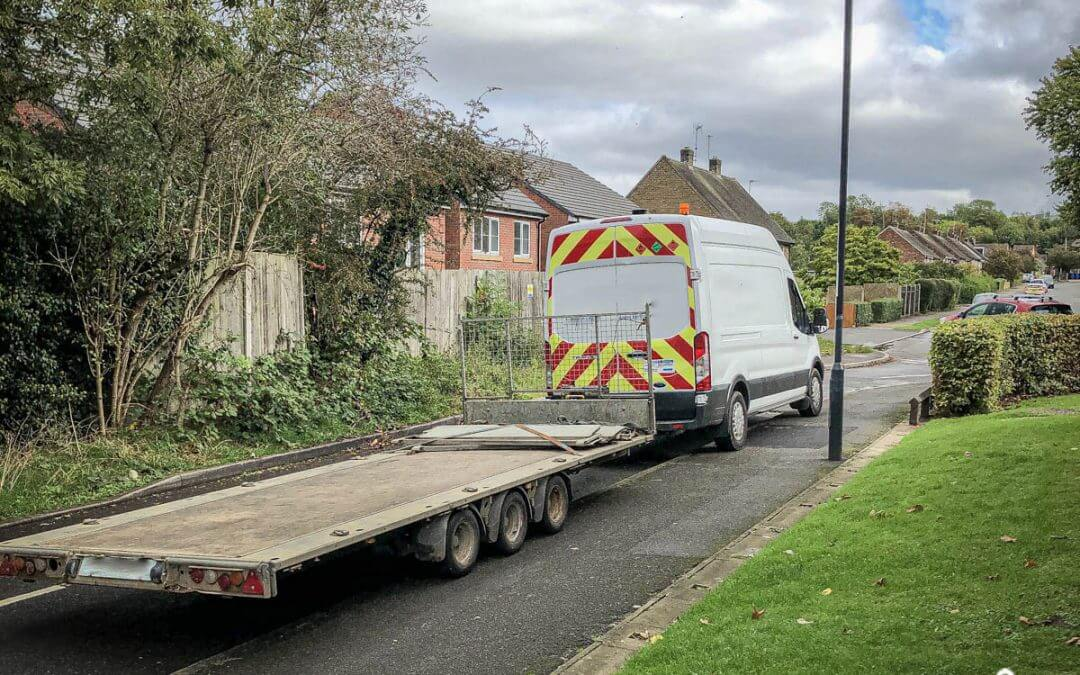 Tri-axel trailer stolen/recovered from East Midlands