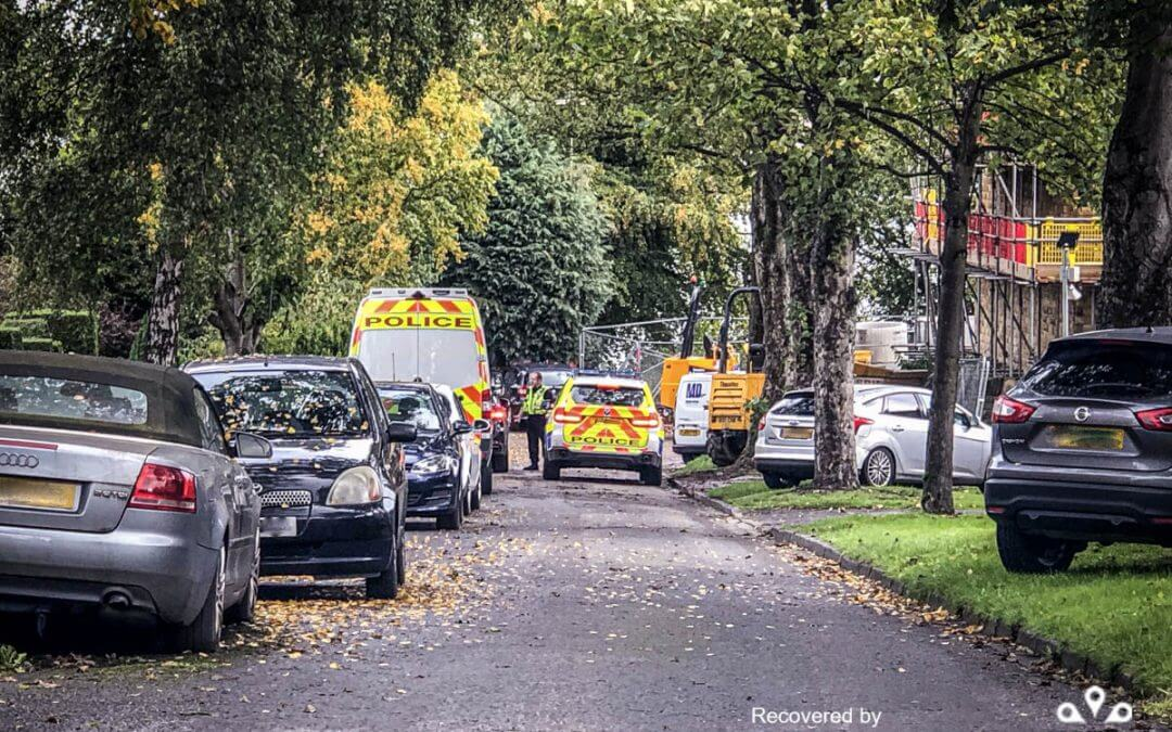 Thwaites Dumper stolen/recovered from Yorkshire
