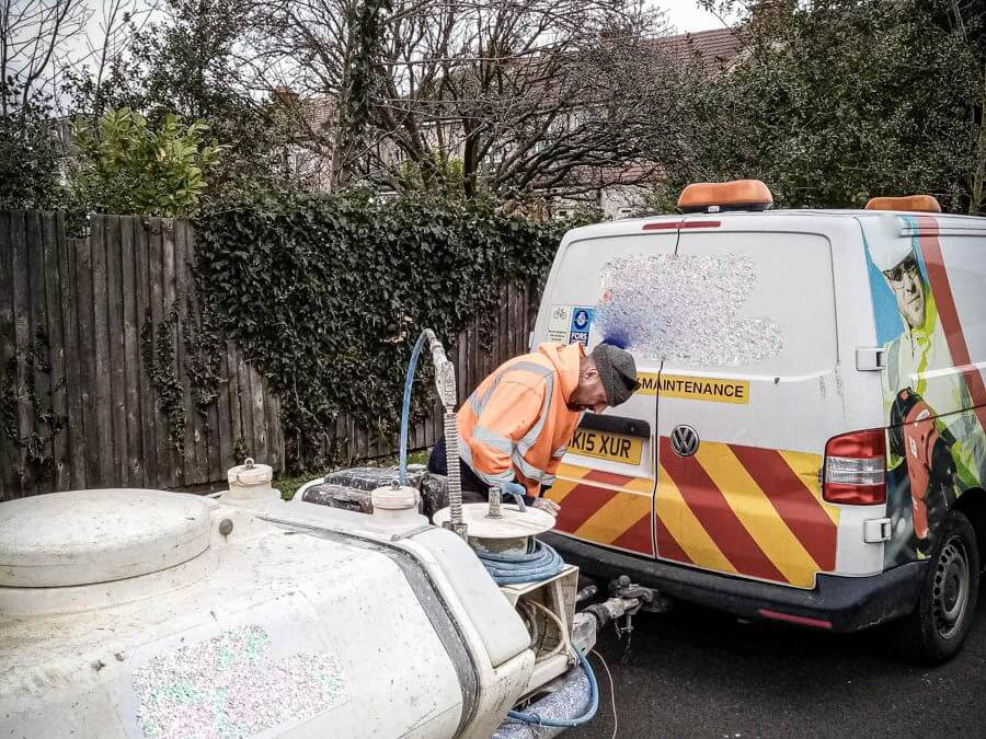 Bowser Pressure Washer stolen from Berkshire recovered in Middlesex