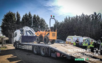 Hi Tip Dumper stolen from Bedfordshire recovered in Lincolnshire